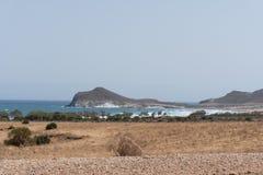 Seascape Cabo De Gata, Almeria Andalucia Spain Royalty Free Stock Photo
