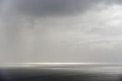 Seascape calmo Fotografia de Stock Royalty Free