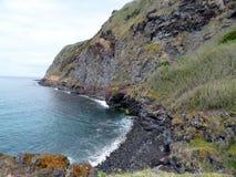 Seascape Caloura, Agua de Pau. Parish, Lagoa. Sao Miguel Island, Azores, Portugal Stock Image