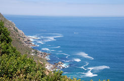Seascape with Cape Point, South Africa Royalty Free Stock Image