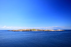 Seascape Christiansoe island Bornholm Denmark Royalty Free Stock Photos