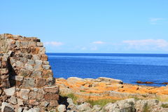 Seascape Christiansoe island Bornholm Denmark Royalty Free Stock Photography