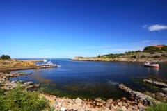 Seascape Christiansoe island Bornholm Denmark Stock Photos