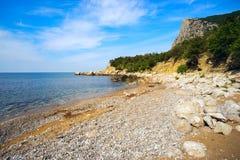 Seascape coast of the Black sea. Royalty Free Stock Photos