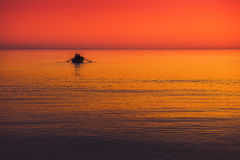 Seascape colors Royalty Free Stock Image