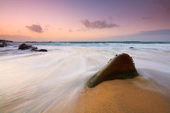 Seascape, Cornwall, UK. Royalty Free Stock Images