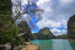Seascape of Coron Island, Philippines Royalty Free Stock Photography