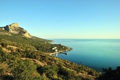 Seascape. Crimea Royalty Free Stock Photo