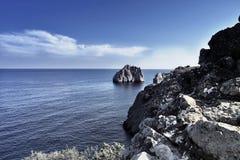 Seascape of the Crimea  Stock Photo