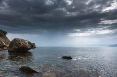 Seascape. Crimean Peninsula Royalty Free Stock Images