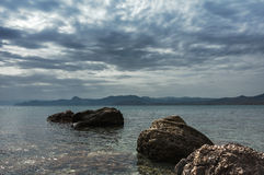 Seascape. Crimean Peninsula Royalty Free Stock Image
