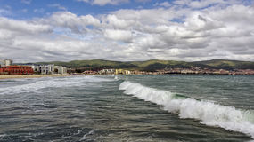 Seascape, Czarny morze Obrazy Royalty Free