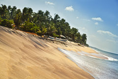 Seascape da foto no Oceano Índico em Sri Lanka Fotografia de Stock Royalty Free