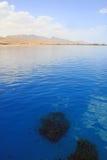 Seascape da lagoa de Dahab (2). Egipto. Mar Vermelho. Fotografia de Stock