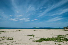 Seascape, Da Nang,Vietnam. Royalty Free Stock Photo