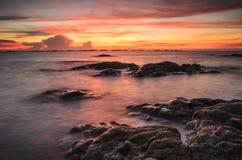 Seascape da pedra Fotos de Stock Royalty Free