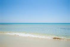 Seascape da praia Imagem de Stock