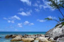 Seascape de Bahamas imagens de stock