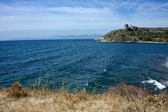 Seascape de Cagliari fotos de stock