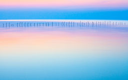Seascape de Calm&Beautiful Imagens de Stock Royalty Free