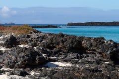 Seascape de Galápagos Foto de Stock