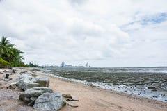Seascape de Lowtide imagens de stock royalty free