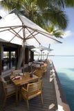 Seascape de Maldives Imagem de Stock