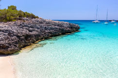 Seascape de Menorca Foto de Stock Royalty Free