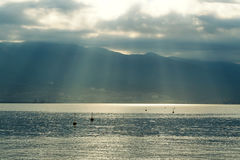 Seascape de Novorossiysk Imagens de Stock Royalty Free