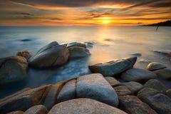Seascape de Rayong Imagem de Stock Royalty Free