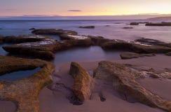 Seascape de Torquay Imagem de Stock