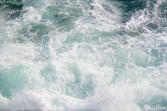 Seascape Deixar de funcionar acena nos mares Fotografia de Stock Royalty Free
