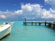 Seascape do Cararibe imagem de stock royalty free