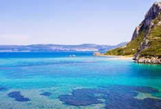 Seascape do mar Ionion Fotografia de Stock