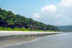 Seascape do verão no koh tropical Imagens de Stock Royalty Free