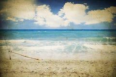 Seascape do vintage Imagens de Stock
