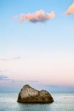 Seascape at dusk Stock Image