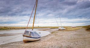 Seascape em Blakeney imagem de stock royalty free