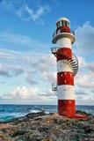 Seascape em Cancun, México fotografia de stock