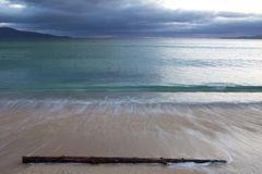 Seascape em Harris, Hebrides exterior Fotografia de Stock Royalty Free
