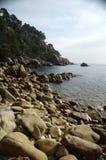 Seascape em Lloret de Mar (Girona) 10 Imagem de Stock