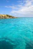 Seascape em Saint Thomas Fotografia de Stock
