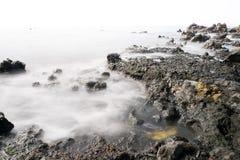 Seascape för kanariefågelö Arkivfoton