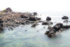 Seascape för kanariefågelö Royaltyfri Bild