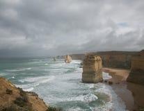 Seascape 2 för tolv apostlar royaltyfri foto