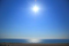 Seascape of Falasarna Crete Stock Images