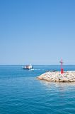 Seascape. Fazana, Croatia Stock Images
