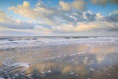 Seascape Folly Beach South Carolina SC Stock Image