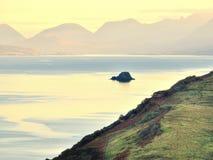 Seascape från Skye, Skottland Royaltyfri Bild
