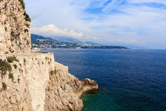 Seascape French Riviera Stock Photography